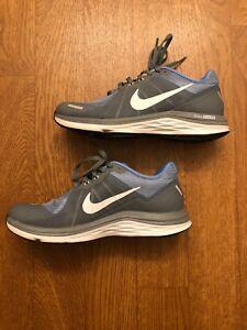 f954b9dcd4b93 Image is loading Womens-Nike-Dual-Fusion-Blue-Gray-amp-White-