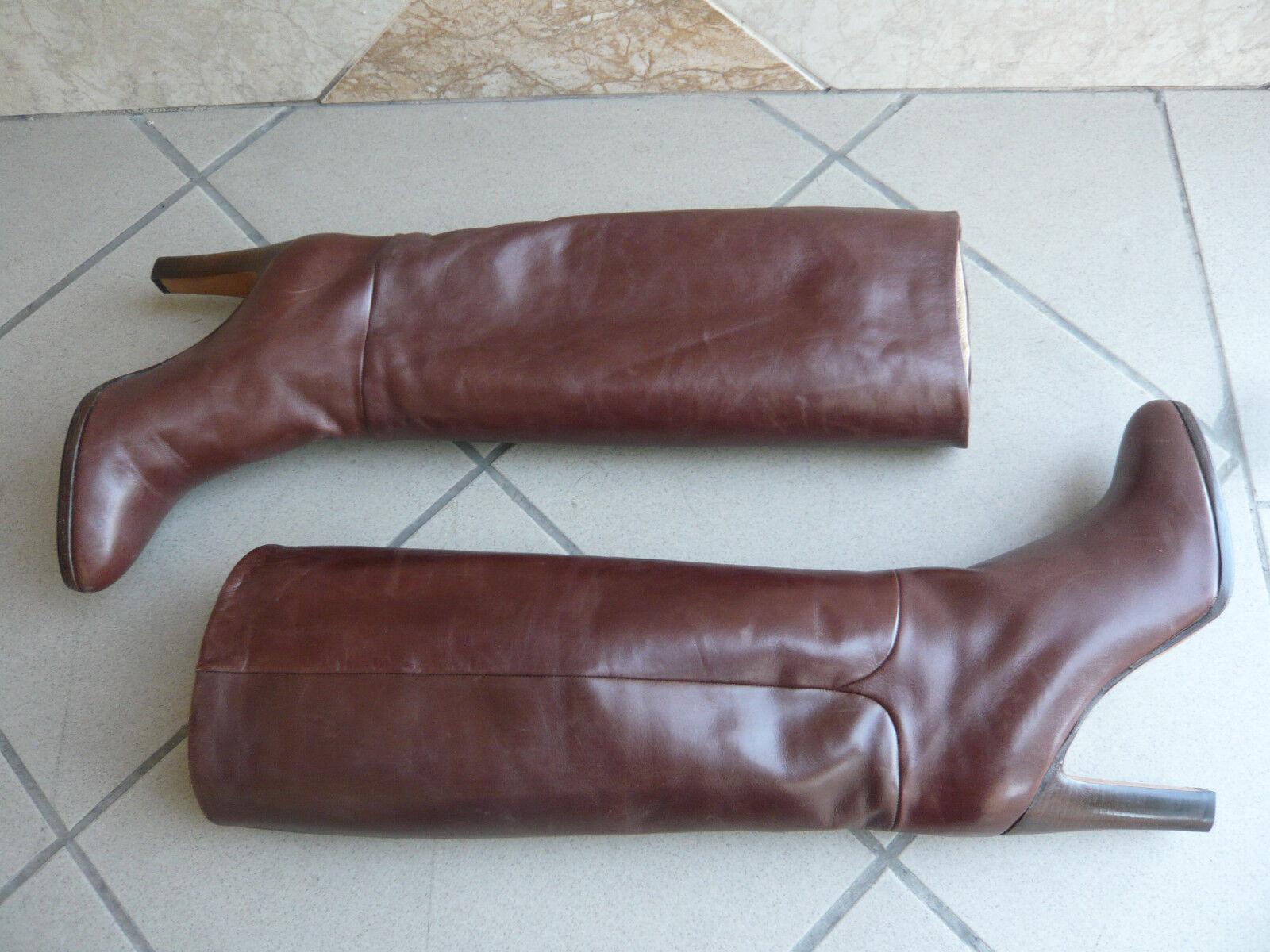 Stiefel vintage vintage vintage 1982  braun Gold  - MARMOLADA Italien t. 39  499568