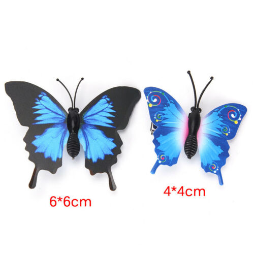 5 PCS Butterfly Hair Clips Bridal Hair Accessories Wedding PhotographyCostum TDO