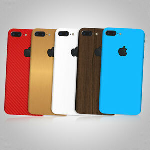 quality design e18ac 26ee1 Details about Skin Sticker Wrap Decal for APPLE iPHONE 8 PLUS - Carbon -  Matt -Tempered Glass