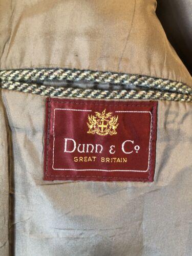 Tweed destrutturato maschile X Blazer grande Co Harris Bespoke 42 Dunn Hwafq