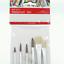 6 Pinceaux de Peinture Fins à l/'eau Aquarelle Acrylique pour Enfant Dessin Artis