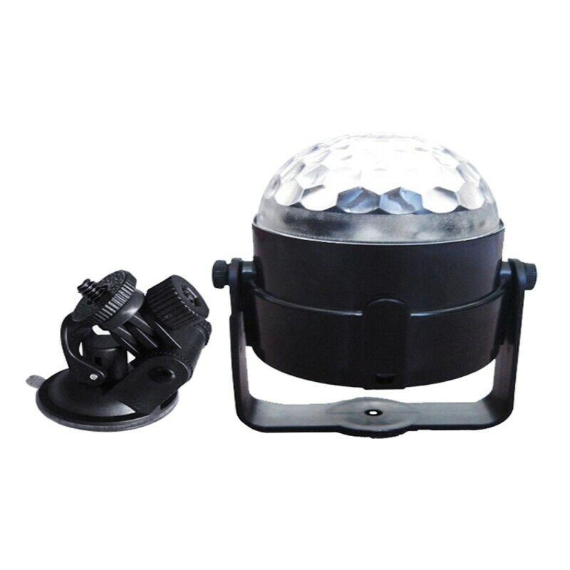 Home/car Disco Dj Stage Lighting Led Rgb Crystal Ball Lamp Bulb Light Party