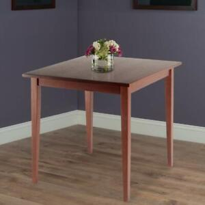 Small Kitchen Dining Table Solid Wood Square Compact 30 Inch Breakfast Apartment Ebay