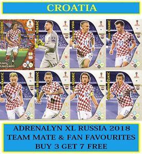Carte Croatie Et Russie.Details Sur Panini Adrenalyn Xl Fifa World Cup 2018 Russie Choisissez Votre Croatie Team Carte Afficher Le Titre D Origine