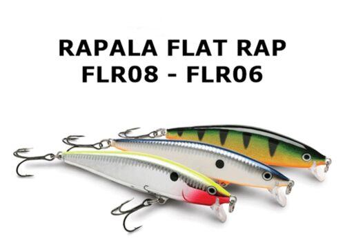 Rapala Flat Rap,FLR-10,//10sm.-12gr.//Color:RT,//Hard Flashing Action//