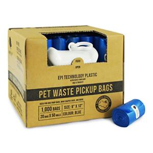 Dog-Poop-Bags-Pick-Up-Pet-Waste-Pooper-Scoopers-Disposal-Up-Waste-Poo-Roll-Bags