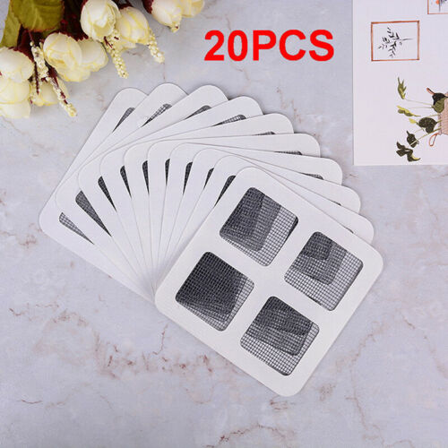20x Anti-Insect Door Window Mosquito Screen Net Repair Tape Patch Adhesive ne H2