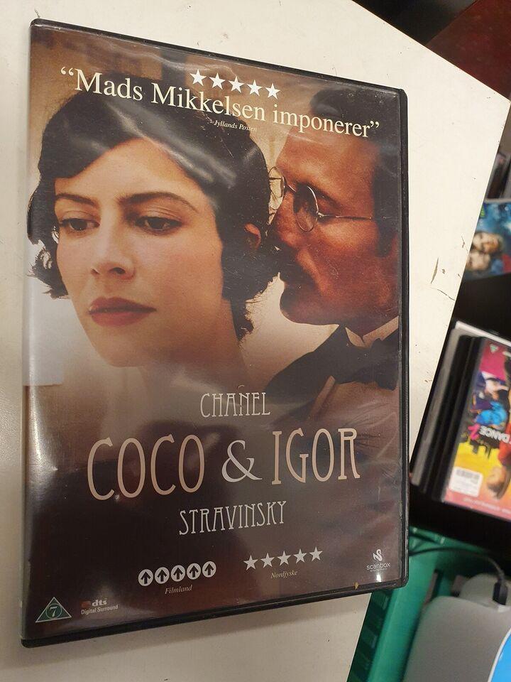 Chanel Coco & Igor, DVD, romantik