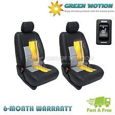 Set of 2 Carbon Fiber 3-level Switch Heated Seat Heater Kit Car Cushion Warmer