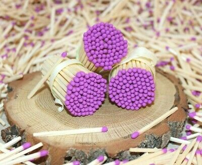500 yellow tips real decorative perfect wedding safety matches white matchsticks