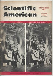 Scientific American Magazine September 1944 WWII Airports America