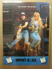 Vintage Movie poster Wayne's World/ concert 1992 1501