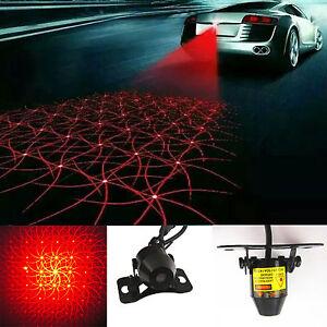 car truck laser safety lighting anti rear end crash caution tail fog light lamp ebay. Black Bedroom Furniture Sets. Home Design Ideas
