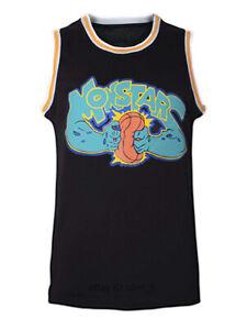 Monstars-0-Space-Jam-Men-039-s-Basketball-Jersey-Black-Stitched