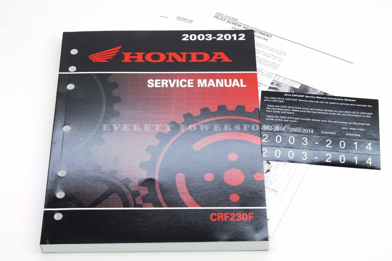 Crf230f Wiring Diagram Xr350r Crf250r Xr650l Service Manua 2003 2014 Crf 230 F Oem Honda Shop Repair Maintenance On