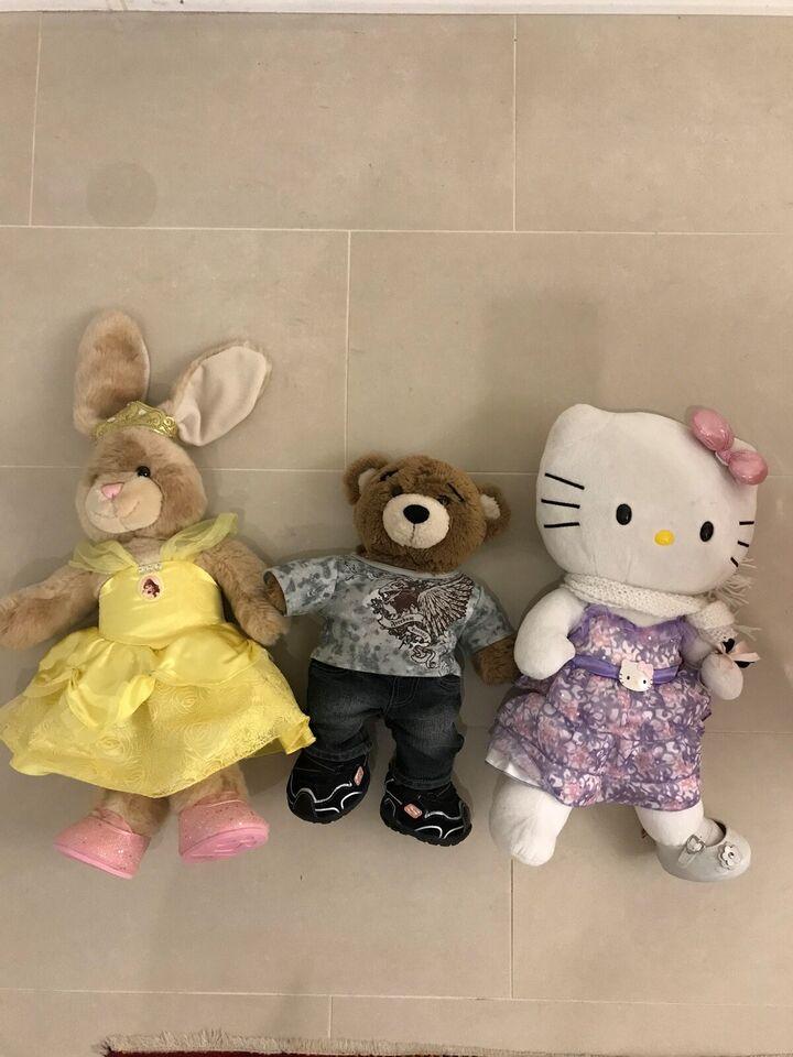 build-a-bear, bamser, tøj og klædeskab
