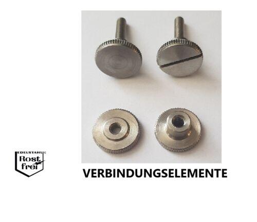 Rändelschraube DIN464 DIN465 DIN653 Rändelmutter DIN466 DIN467 versandkostenfrei