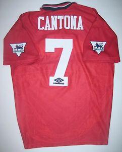 S bis 3XL Eric Cantona MUFC /& France T-Shirt Gr 100 /% Baumwolle