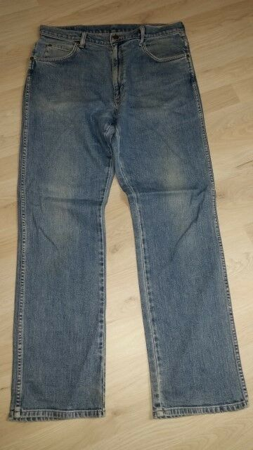 H2951 Wrangler Regular fit fit fit Jeans W33 Blau  Sehr gut  | Neue Produkte im Jahr 2019  627ba2