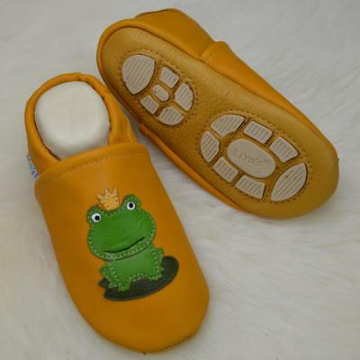 Pantofole's Baby Scarpe Pantofole Liya Krabbelschuhe - #687a Rana-