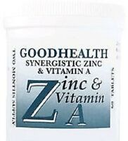 ZINC and VITAMIN A (60 tablets)  2 Months supply