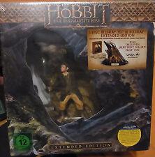 """DER HOBBIT """"Eine unerwartete Reise"""" Extended Edition 5 Disc Blu-Ray 3D Box Figur"""