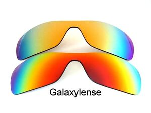 bbecdcfe63 Image is loading Galaxy-Replacement-Lens-for-Oakley-Antix-Sunglasses-Red-