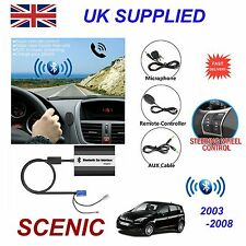 Renault SCENIC Bluetooth Hands Free Phone AUX Input MP3 USB 1A Charger Module 8p