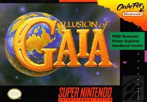 Illusion-Of-Gaia-SNES-Great-Condition-Fast-Shipping