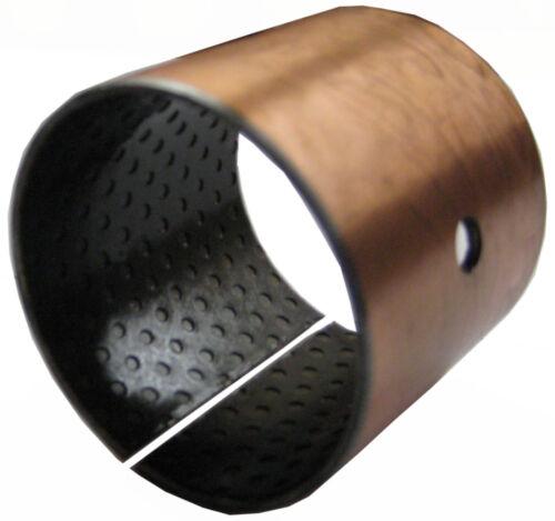 100//105x115mm Gleitlager-Buchse wartungsarm Serie WX Maße