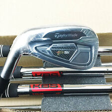 TAYLORMADE 2016 PSi IRON SET 3-PW  KBS TOUR STEEL STIFF *LEFT-HANDED* NEW! 17449