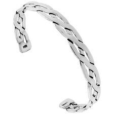 Handmade Sterling Silver Celtic Knot Cuff Bangle Bracelet