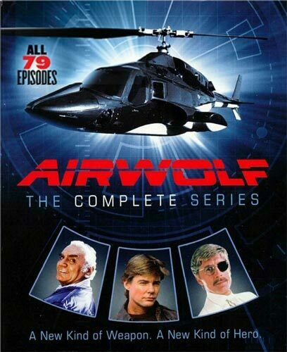 Airwolf: The Complete Series (14 Disc) DVD NEW