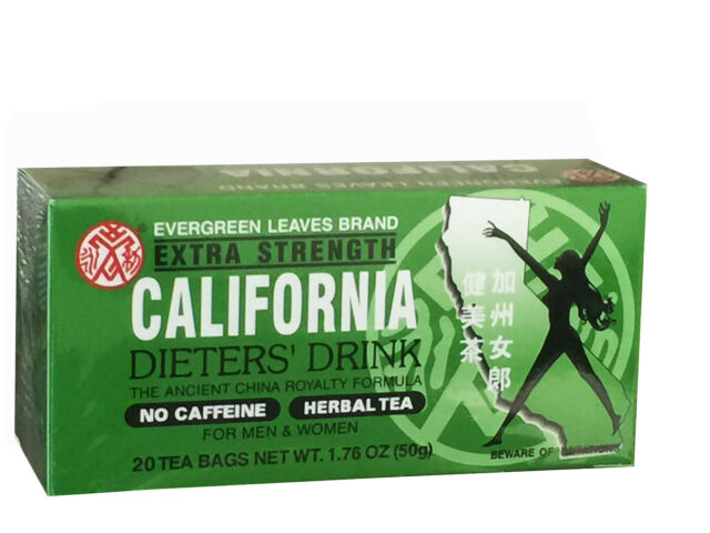 California Dieters Tea - Extra Strength 20 Tea Bags (with quantity discount)