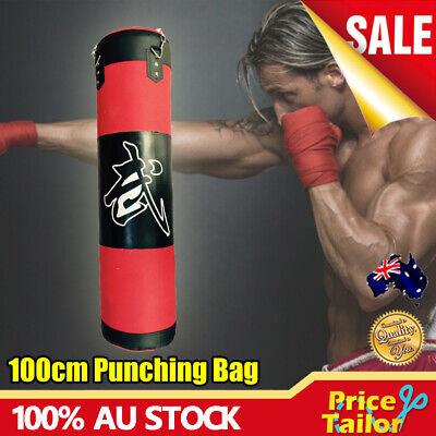 Heavy Duty Punching Training Bag MMA Boxing Martial Arts Kicking Sandbag New S