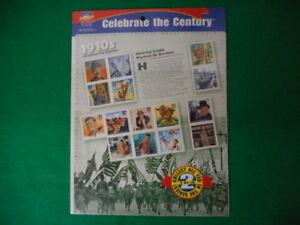 Celebrate-the-Century-1910-039-s-Mint-Stamp-Sheet-NH-VF-Original-pk