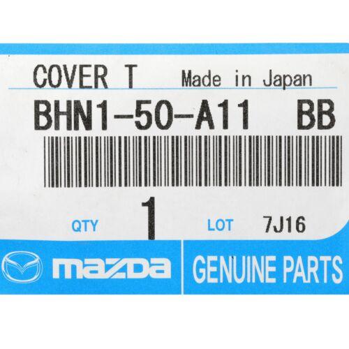 2014-2016 Mazda 3 Black Plastic Frt Bumper Tow Hook Cover OEM NEW BJS7-50-A11-BB