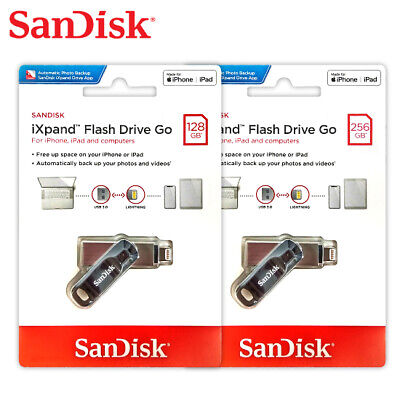 SanDisk 128GB 256GB iXpand GO OTG Flash Drive for iPhone Tracking Included