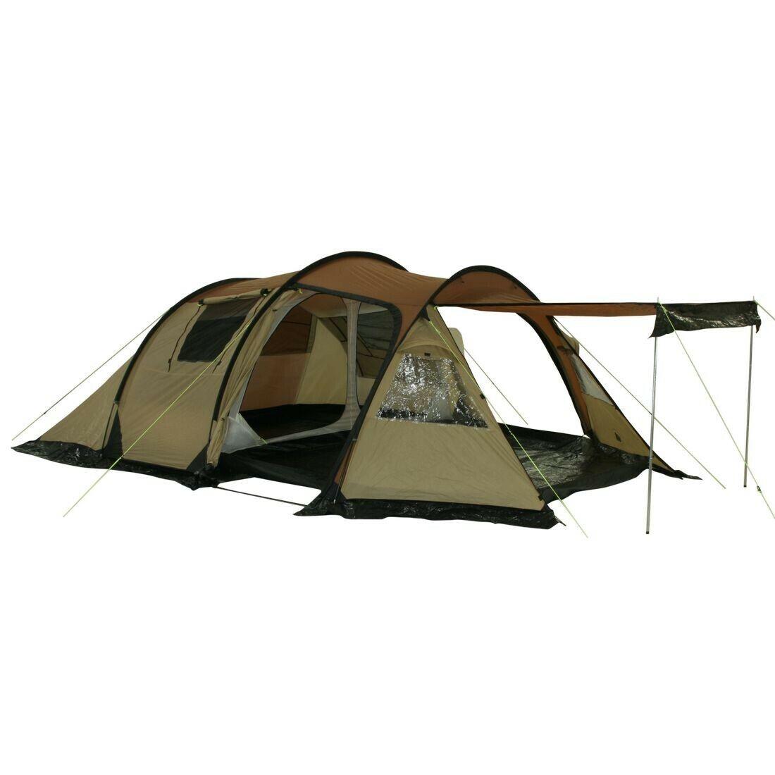 Felton Tente tunnel 4 personnes Tente trekking extérieure 5000mm