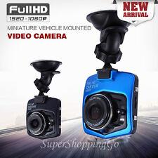 "Car Dash Cam 1080P Full HD DVR 2.4"" GT300 G-sensor Video Camera Recorder - Black"
