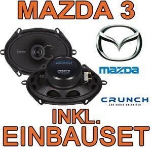 MAZDA-3-croquer-HAUT-PARLEURS-SET-D-039-installation-2-voies-Systeme-porte