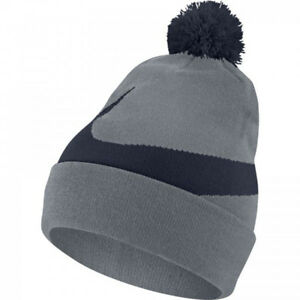 best online utterly stylish fashion style pretty nice ccdcb f45eb mens pom beanie men charcoal image 2 nike ...