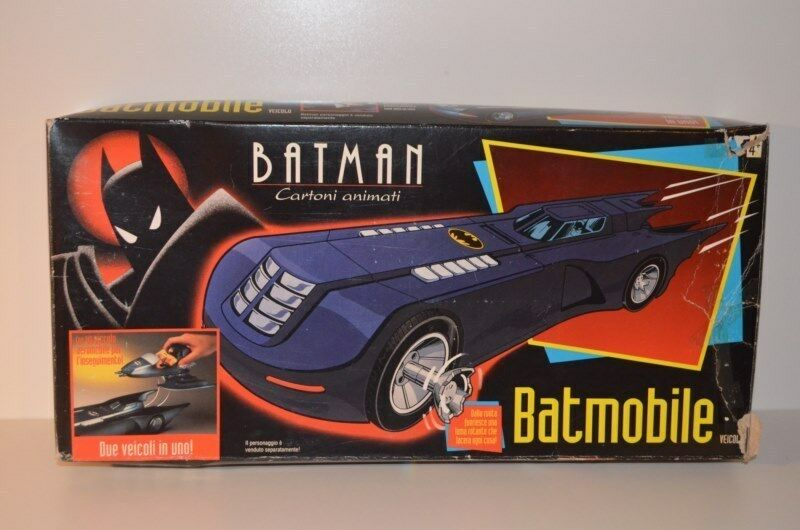 0017 Batman Animated Series Batmobile NEW - Kenner