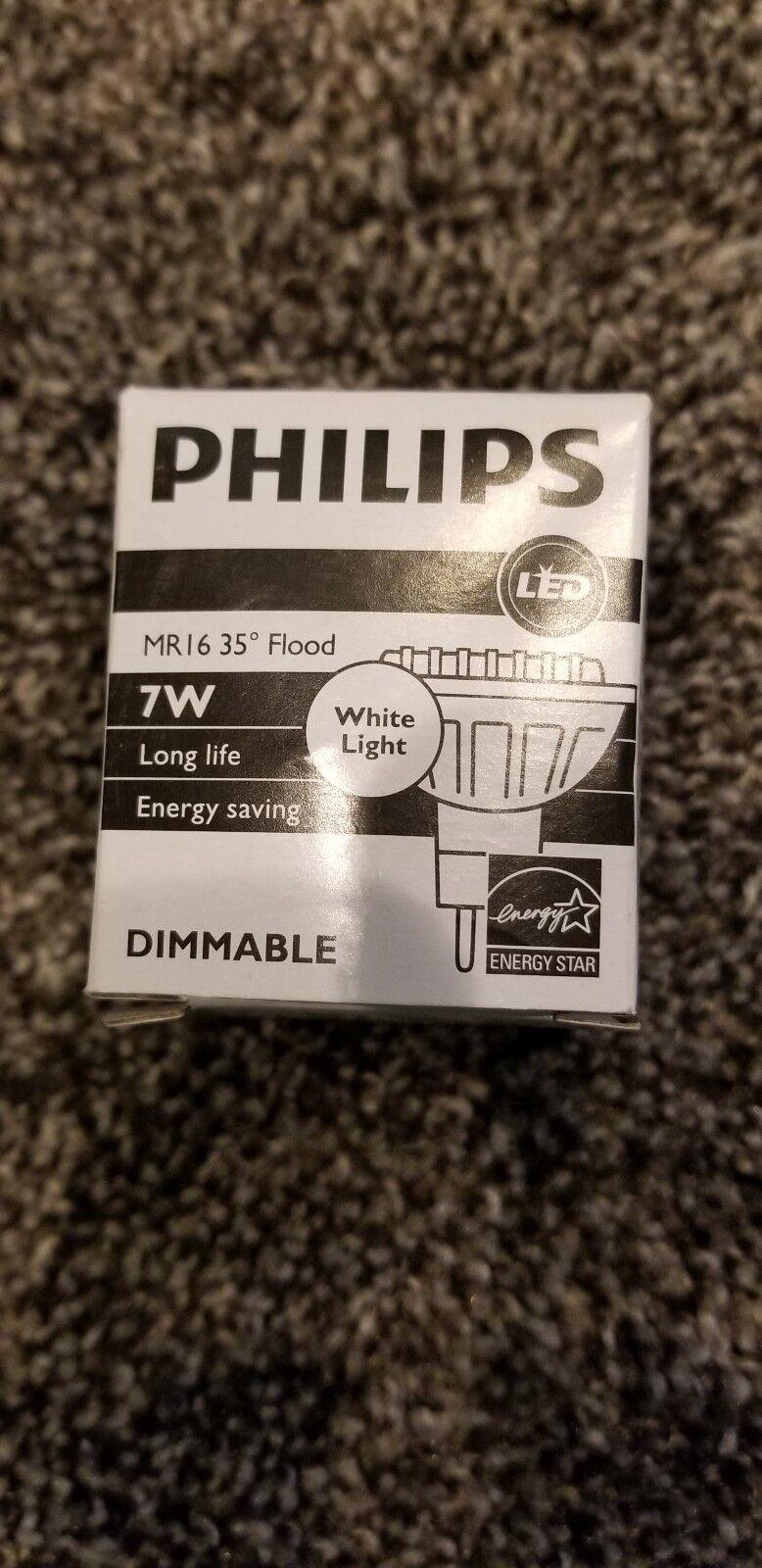(8) Phillips 7MR16 LED F35 830 DIM AF2