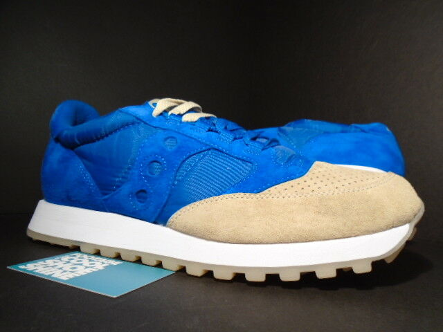 2014 SAUCONY JAZZ ORIGINAL ANTEATER SEA & SAND ROYAL blueE TAN WHITE 70137-1 11