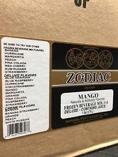 Slush Mix Drink Concentrate Premium 1 Mango Frozen Beverage Mix Case 4 1 Gallon