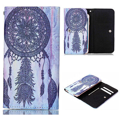 For Doro Liberto 810 820 Phone Universal Anti-shock Wallet Card Bag Case Cover