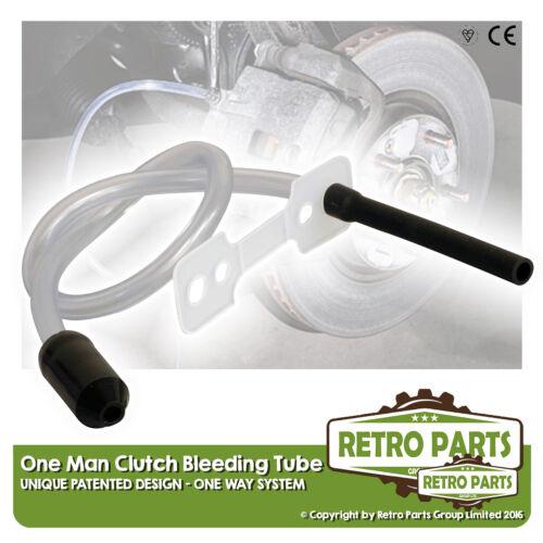 One Man Hydraulic Clutch Bleeding Kit One Way Tube for Fiat Panda DIY