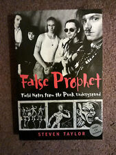 FALSE PROPHET: Field Notes From the Punk Underground w/ Audio CD!- Steven Taylor